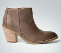 Schuhe Stiefelette in Vintage-Optik