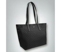 Damen Shopper mit Allover Logo Print