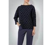Damen Pullover mit Webmuster