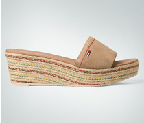 Schuhe Sandalen mit Plateausohle