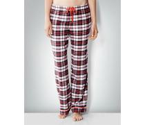 Pyjamahose mit Karo-Dessin