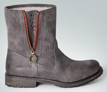 Schuhe Stiefelette mit warmem Kunstfell-Futter