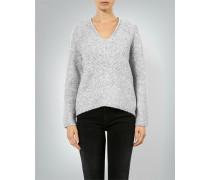 Damen Pullover mit Melange