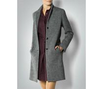 Damen Mantel aus Wolle mit Halbfutter