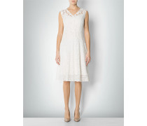 Damen Kleid aus italienischer Raschelspitze