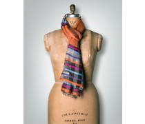 Damen Schal im Streifen Dessin aus Schurwolle