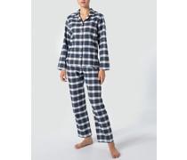 Nachtwäsche Pyjama in softer Flanell Qualität