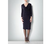 Kleid mit Taillen -Drapé