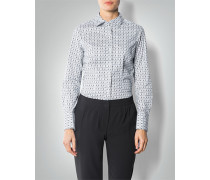 Bluse mit modischem Allover-Print