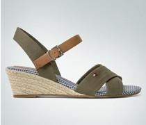 Damen Schuhe Sandale mit Keilabsatz