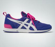 Damen Schuhe Sneaker sehr leicht aus Velourslederimitat und Nylon