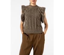 Pullover Pullunder aus Wolle und Alpaka