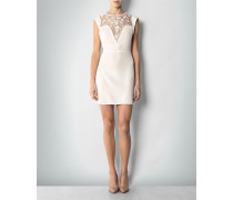 Damen Kleid mit Transparenz-Einsatz