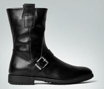Damen Schuhe Stiefel aus Glattleder