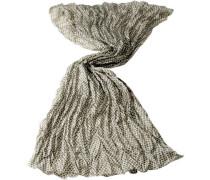 Damen Schal Seide -weiß