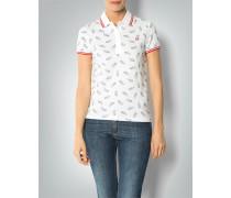 Damen Polo-Shirt mit Paisley-Print