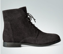 Damen Schuhe Schnürstiefeletten aus Leder