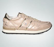 Damen Schuhe Sneaker mit Metallic-Finish