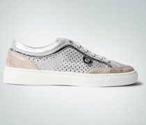 Damen Schuhe Sneakers im Metallic-Look