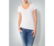 Damen T-Shirt in cleanem Look