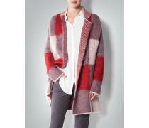 Damen Cardigan im Patchwork-Look ,violett