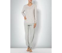 Damen Nachtwäsche Pyjama aus Frottee