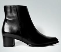 Damen Schuhe Stiefeletten mit Mini-Profil schwarz