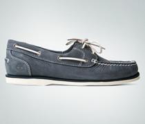 Damen Schuhe Mokassin aus Nubukleder