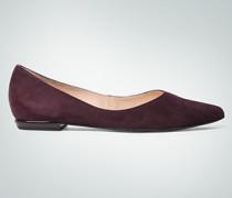Damen Schuhe Ballerinas aus Velousleder