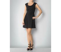 Jersey-Kleid in Neopren-Optik