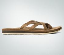 Damen Schuhe Zehentrenner aus Leder