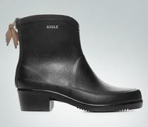 Damen Schuhe Gummistiefel Naturkautschuk kleiner Absatz