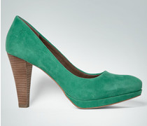 Damen Schuhe Pumps aus Veloursleder