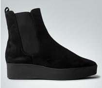 Damen Schuhe Stiefelette mit Keil-Plateauabsatz