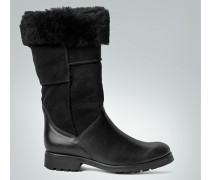 Damen Schuhe Stiefel im Leder-Mix