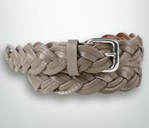Damen Gürtel Breite ca. 30 mm taupe
