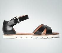 Damen Schuhe Sandalen mit Zier-Kappnaht