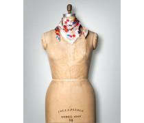 Damen Schal Seidentuch mit floralem Druck