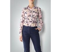 Damen Bluse in floralem Muster ,rosa