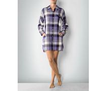 Damen Nachthemd im Karo-Muster