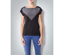 Damen Shirt im Two-Tone-Look