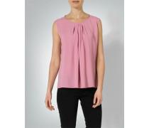 Shirtbluse mit Faltendetails