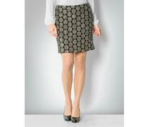 Damen Rock im Oversized-Punkte-Muster