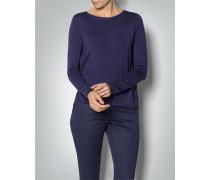 Damen Pullover mit Plissee-Einsatz
