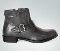 Damen Schuhe Bootie im Biker-Look