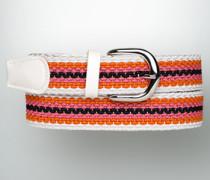 Damen Gürtel ALBERTO GOLF Gürtel in geflochtener Streifen-Optik