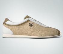 Damen Schuhe Sneaker in Schlangenleder-Optik
