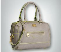 Damen Handtasche mit Kontrast-Details