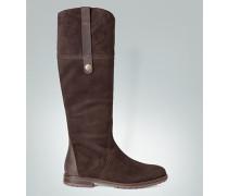 Damen Schuhe Stiefel aus Veloursleder