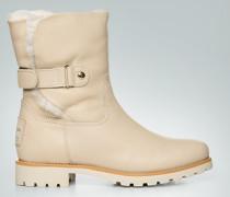 Damen Schuhe Stiefelette mit Klettriegel